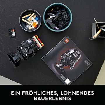 LEGO75304StarWarsDarth-VaderHelmBausetfürErwachsene,Deko,Geschenkidee,ModellzumBauenundAusstellen - 6