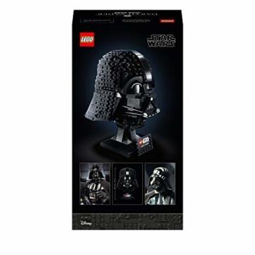 LEGO75304StarWarsDarth-VaderHelmBausetfürErwachsene,Deko,Geschenkidee,ModellzumBauenundAusstellen - 7