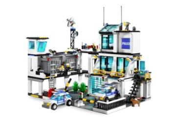 LEGO City 7744 - Polizeistation komplett