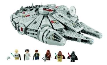 Lego Star Wars 7965 - Millennium Falcon Figuren