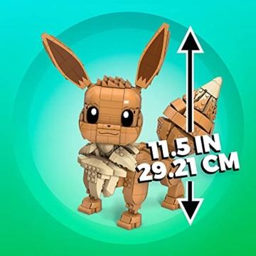 Mega Construx Evoli Pokémon maße