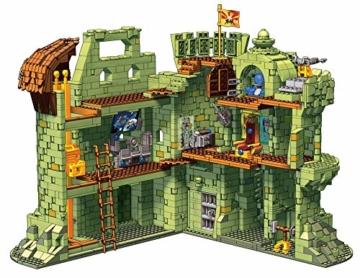 mega-construx-Grayskull aufgeklappt