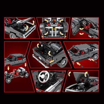 mocdiy-technik-sportwagen-bausteine-mould-king-13081-2-4ghz-app-dual-ferngesteuert-ultimatives-muskelauto-bausatz-mit-motoren-1098teile-diy-klemmbausteine-kompatibel-mit-lego-technic-5