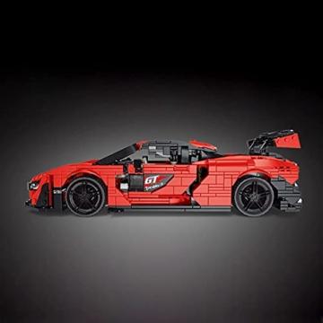 Mould King 10007 Sportwagen seite