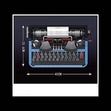 Mould King 10032 Schreibmaschinen