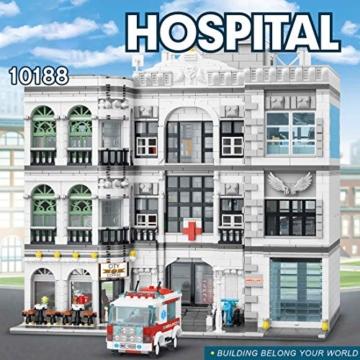Mould King 10188 Krankenhaus