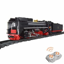 Mould King 12003 QJ Steam Locomotive