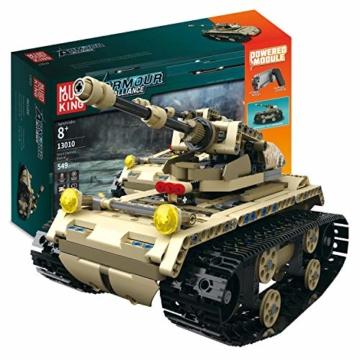Mould King 13010 ferngesteuerter Panzer
