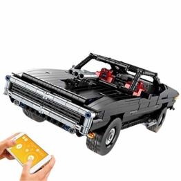 Mould King 13081 Dodge Charger ferngesteuert