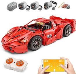 Mould King 13085 Ferrari FXX Supercharged V12
