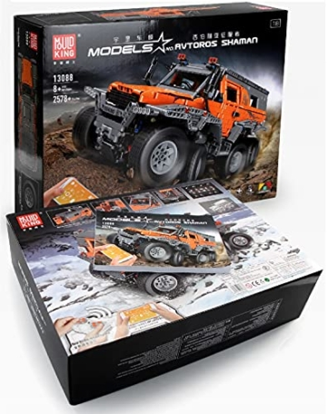 Mould King 13088 Avtoros Shaman Off-Roader 8x8 box