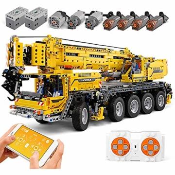 Mould King 13107 mobiler Kran mit 8 Motoren