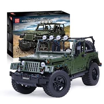 Mould King 13124 Jeep Wrangler