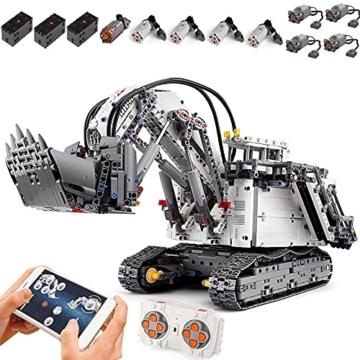 Mould King 13130 Technik Bagger mit Power Functions Set