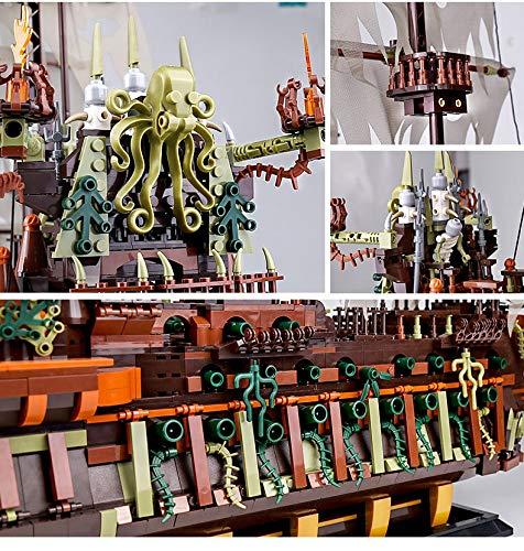 Mould King 13138 Fliegender Holländer Piratenschiff kanonen