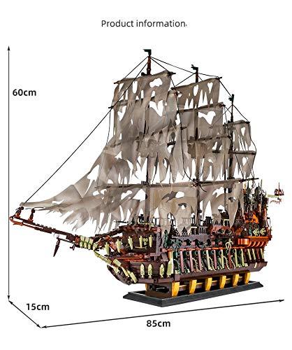 Mould King 13138 Fliegender Holländer Piratenschiff segel