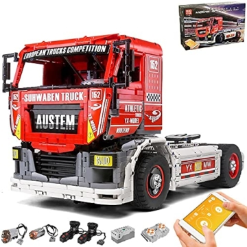 Mould King 13152 racing truck