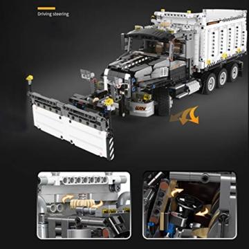 Mould King 13166 Schneeflug LKW Funktion