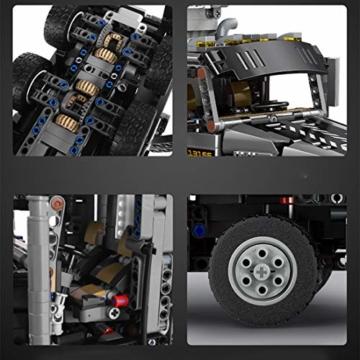 Mould King 13166 Schneeflug LKW Reifen