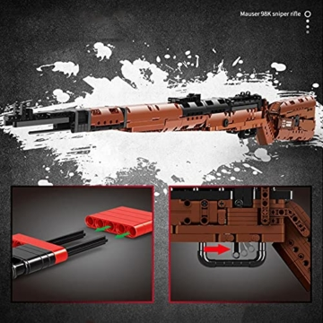 Mould King 14002 Mauser K98 Sniper Gewehr