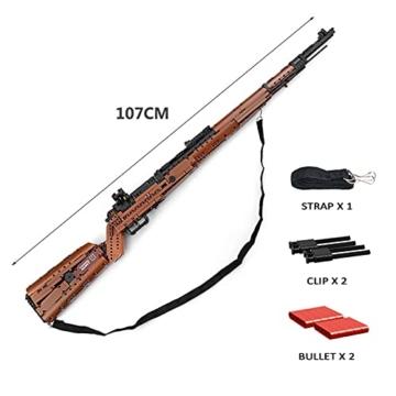 Mould King 14002 Mauser K98 Sniper Gewehr Maße