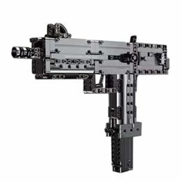 Mould King 14012 Mac10 Submachine Gun