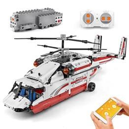 Mould King 15012 Hubschrauber