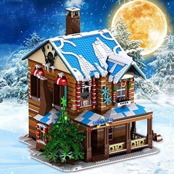 Mould King 16011 Weihnachtshaus licht