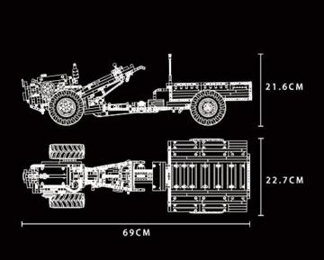 Mould King 17005 Konstruktion
