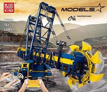 Mould King 17006 Schaufelradbagger box