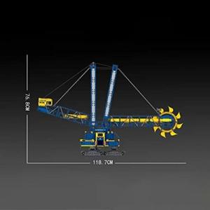 Mould King 17006 Schaufelradbagger maße