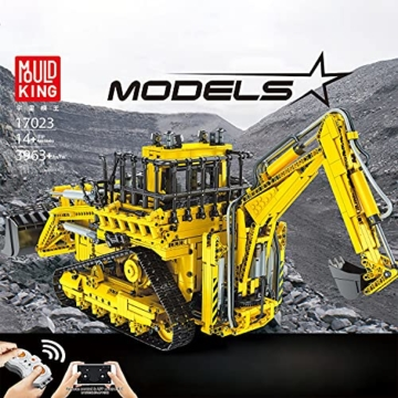 Mould King 17023 Pneumatic Bulldozer box