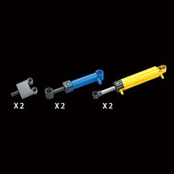 Mould King 17023 Pneumatic Bulldozer Teile