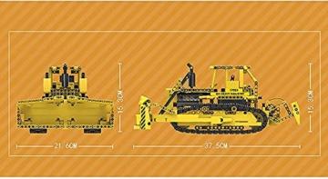 Mould King 17024 Bulldozer