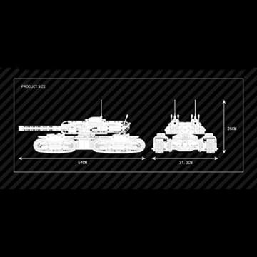 Mould King 20011 MK-Ⅱ Tank Command and Conquer