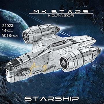 Mould King 21023 Razor Starship 1
