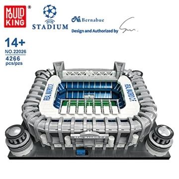 Mould King 22026 Bernabue Fußballstadium