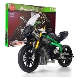 Mould King 23002 Kawasaki H2R Motorrad