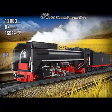 ovitop-technik-zug-eisenbahn-1552-teile-technic-gueterzug-technik-ferngesteuert-zug-mit-motor-fernbedienung-und-beleuchtungsset-technik-dampflokomotive-kompatibel-mit-lego-technic-3