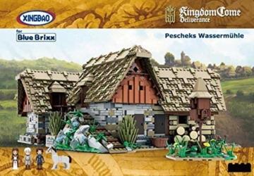 Pescheks Wassermühle BlueBrixx 11007 Xingbao karton