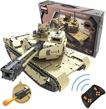 s-idee-9801-rc-militaer-bausteinpanzer-mit-fernsteuerung-qihui-rc-panzer-ferngesteuert-mit-schussfunktion-klemmstein-baustein-1