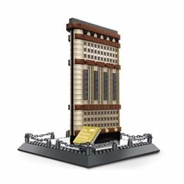 WANGE - Flatiron Building New York - W4220 - Architektur Serie - Klemmbausteine 838 Teile - 1