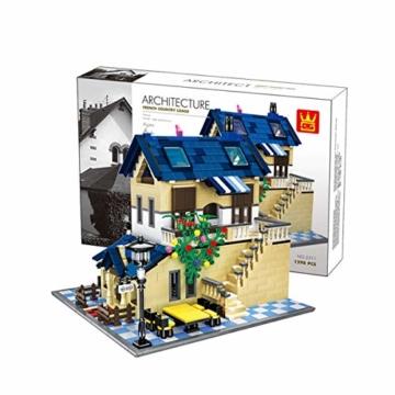 WANGE - Französisches Landhaus - W5311 - 1298 Teile - 4