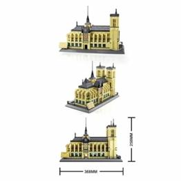 WANGE Kathedrale Notre Dame - ArtikelNr. 5210, Anzahl der Teile: 1380 - 1